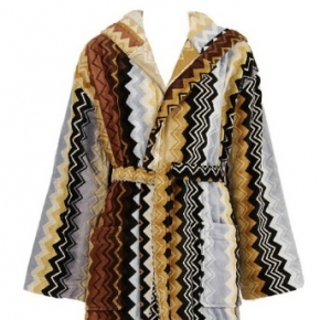 Халаты Одежда для бани и сауны Deluxe. Халат Giacomo Brown