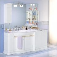 Мебель для ванной комнаты. Мебель для ванной Eurodesign умывальник с зеркалом Hilton 10