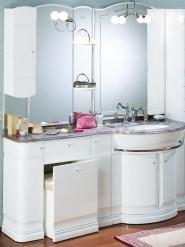 Мебель для ванной комнаты. Мебель для ванной Eurodesign умывальник с зеркалом Hilton 11