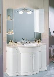 Мебель для ванной комнаты. Мебель для ванной Eurodesign умывальник с зеркалом Hilton 12