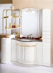 Мебель для ванной комнаты. Мебель для ванной умывальник с зеркалом Eurodesign Hilton 13