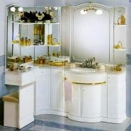 Мебель для ванной комнаты. Мебель для ванной угловой умывальник с зеркалом Eurodesign Hilton 3