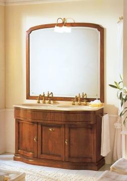 Мебель для ванной комнаты. Мебель для ванной двойной умывальник с зеркалом Eurodesign IL BORGO 4