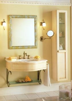 Мебель для ванной комнаты. Мебель для ванной умывальник с зеркалом  Eurodesign IL BORGO 14