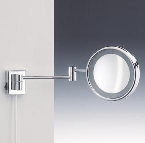 . Decor Walther Косметическое зеркало с подсветкой и увеличением 1х8 Wand настенное
