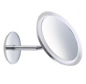 Зеркала косметические с подсветкой увеличением настенные настольные Зеркала с присосками. Keuco Bella Vista зеркало косметическое с гибкой ножкой LED подсветка прямое подключение