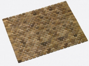 Мебель и Аксессуары для ванной из натурального дерева, Раттана и Бамбука. Деревянный коврик для ванной и душевой кабины Teack тиковый