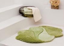 . SIMPHONY Коврик для ванной зелёный