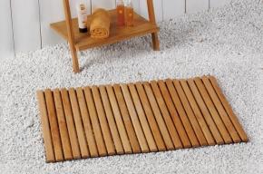 Деревянные коврики и решётки для душа и ванной комнаты. Деревянный Коврик Wanda Nicol для ванной