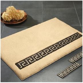 Коврики для ванной комнаты. Коврик для ванной Decora Greek Nicol с греческим орнаментом
