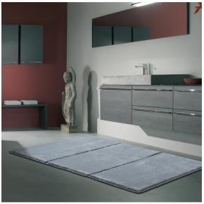 Коврики для ванной комнаты. Lima 1 Nicol Коврик для ванной с декором