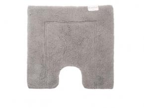 . Коврик для ванной Муст CT Светло-серый 992 с вырезом