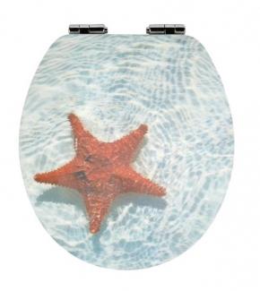 Сиденья для унитаза с крышкой. SEESTERN сиденье для унитаза с микролифтом крышки 3D морской декор