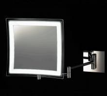 Зеркала косметические с подсветкой увеличением настенные настольные Зеркала с присосками. Квадратное настенное прямое подключение без провода зеркало косметическое с подсветкой LED и увеличением 1х5