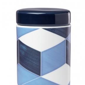 Ёмкости для хранения кухонные. Банка с крышкой 18см Аззурро (Azzurro)