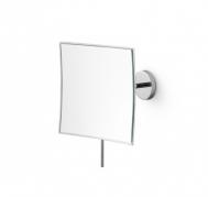 . Зеркало косметическое настенное с 3-х кратным увеличением квадратное Lineabeta