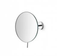 Зеркала косметические с подсветкой увеличением настенные настольные Зеркала с присосками. Косметическое зеркало с 3-х кратным увеличением настенное круглое Lineabeta