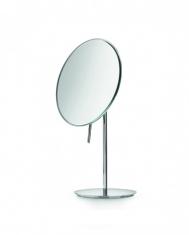 Зеркала косметические с подсветкой увеличением настенные настольные Зеркала с присосками. Косметическое зеркало настольное с увеличением 3-х кратным Lineabeta