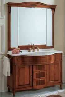 Мебель для ванной комнаты. Мебель для ванной Eurodesign умывальник с зеркалом Luigi XVI 1