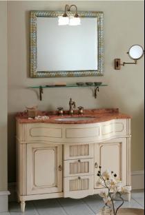 Мебель для ванной комнаты. Мебель для ванной Eurodesign умывальник с зеркалом Luigi XVI 5