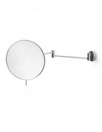 Зеркала косметические с подсветкой увеличением настенные настольные Зеркала с присосками. Косметическое зеркало с увеличением 1х3 настенное Lineabeta круглое