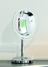 Зеркала косметические с подсветкой увеличением настенные настольные Зеркала с присосками. MARIELLA Nicol зеркало косметическое с подсветкой LED настольное с 10-ти кратным увеличением