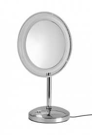 Зеркала косметические с подсветкой увеличением настенные настольные Зеркала с присосками. MARIELLA Nicol зеркало с подсветкой LED косметическое настольное с 5-ти кратным увеличением