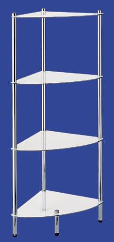 Этажерки для ванной. MAXIMO Nicol этажерка стеклянная для ванной угловая 4 полки