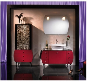 Мебель для ванной комнаты. Ardino мебель для ванной Weinrot