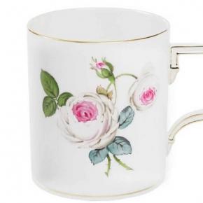 Посуда Столовые приборы Декор стола Deluxe. Кружка Белая роза 250 мл