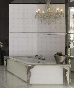 Ванны. Milldue ванна Majestic декор белый