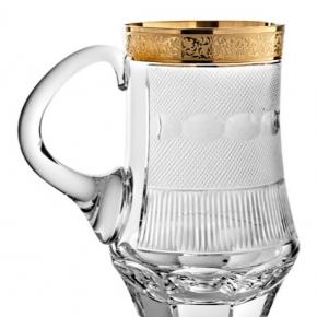 Посуда Столовые приборы Декор стола Deluxe. Кружка для пива 500 мл Сплендид подарочная коробка Moser