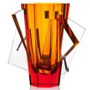 Вазы Deluxe. Хрустальная ваза 28 см Айсберг лимитированный выпуск 10 из 500 Moser