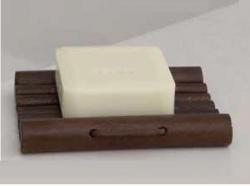 Мебель и Аксессуары для ванной из натурального дерева, Раттана и Бамбука. Severin мыльница деревянная настольная тон Орех