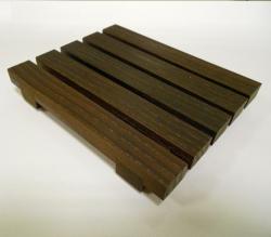 Мебель и Аксессуары для ванной из натурального дерева, Раттана и Бамбука. Настольные аксессуары для ванной тон Венге Wenge мыльница деревянная