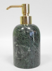 . Marmores Natura VA мраморные аксессуары для ванной настольные дозатор золотой
