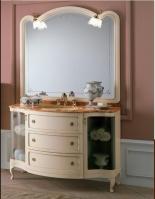 Мебель для ванной комнаты. Мебель для ванной Eurodesign умывальник с зеркалом Royal 3