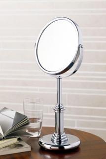 Зеркала косметические с подсветкой увеличением настенные настольные Зеркала с присосками. Зеркало косметическое Windsor PomdOr настольное с увеличением 1х2 и 1х1 двухстороннее