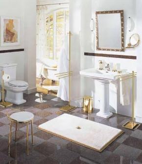 Коврики для ванной на заказ из Германии индивидуального дизайна и размера.  Коврик для ванной комнаты на заказ из Германии PIAZZA Nicol люрекс золотой серебряный. Индивидуальное производство на заказ