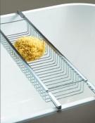 Полки для душа Сетки Полки для ванной стеклянные Полки для полотенец. Полка для ванны хром Quadrra