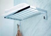Полки для душа Сетки Полки для ванной стеклянные Полки для полотенец. Полка для полотенец с крючками Urban PomdOr