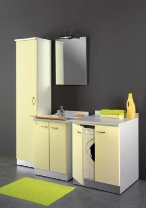 Итальянские постирочные раковины Мебель и оборудование для постирочной комнаты. Vella Мебель для постирочной комнаты раковина постирочная большая с тумбой для встраивания стиральной машины
