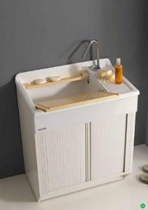 Итальянские постирочные раковины Мебель и оборудование для постирочной комнаты. Мебель для постирочной Глубокая раковина для стирки большая LR Colavene