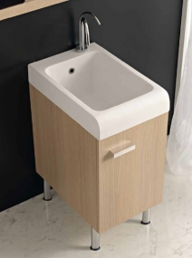 . Глубокая раковина для стирки мебель для постирочной Skip Colavene Дуб