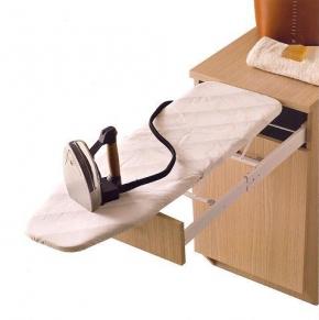 Итальянские постирочные раковины Мебель и оборудование для постирочной комнаты. Мебель для постирочной встроенная гладильная доска тумба Дуб Colavene