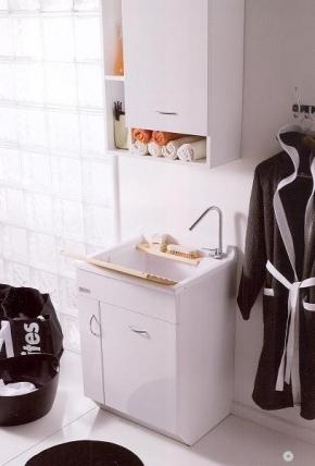 Итальянские постирочные раковины Мебель и оборудование для постирочной комнаты. Мебель для постирочной JW Colavene Глубокая раковина для стирки