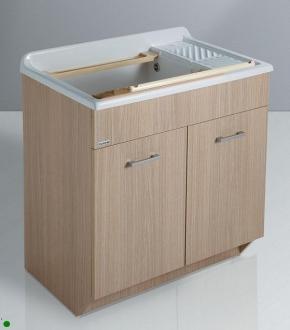 Итальянские постирочные раковины Мебель и оборудование для постирочной комнаты. Раковина постирочная мебель Дуб COLAVENE LN
