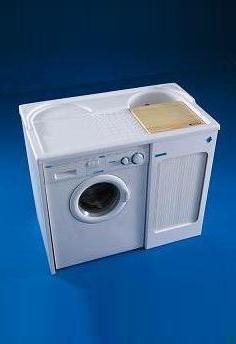 .  Мебель для постирочной LAV COLAVENE Глубокая раковина для стирки с крылом для стиральной машины