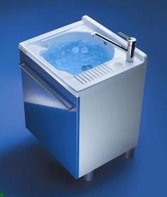 . Мебель для постирочной Active Wash Глубокая раковина для стирки Синий Colavene