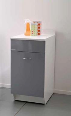 Итальянские постирочные раковины Мебель и оборудование для постирочной комнаты. Мебель для постирочной Base Colavene серый